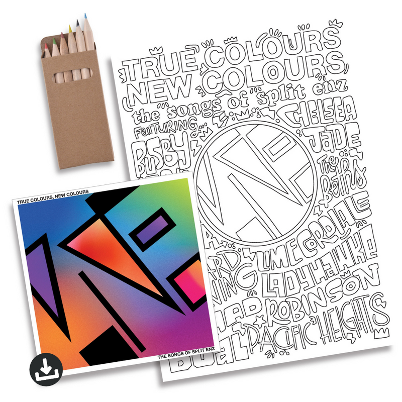True Colours, New Colours - Deluxe Digital Album + Colouring In Pack