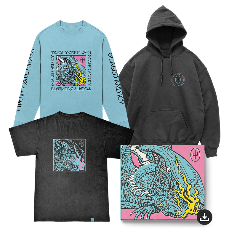 twenty one pilots scaled and icy digital merch bundle
