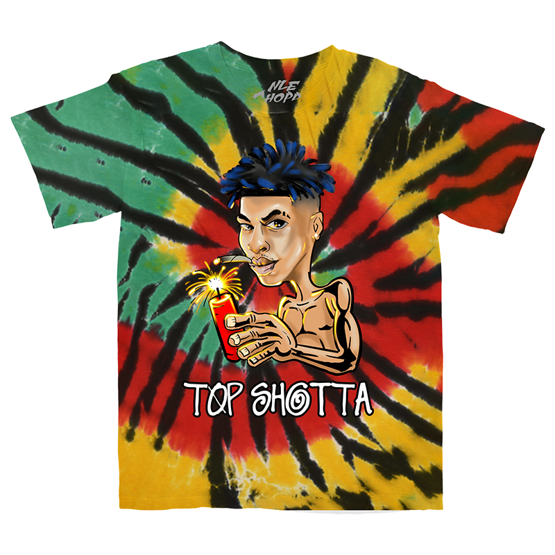Dynamite Rasta Tie Dye T-Shirt + Digital Download