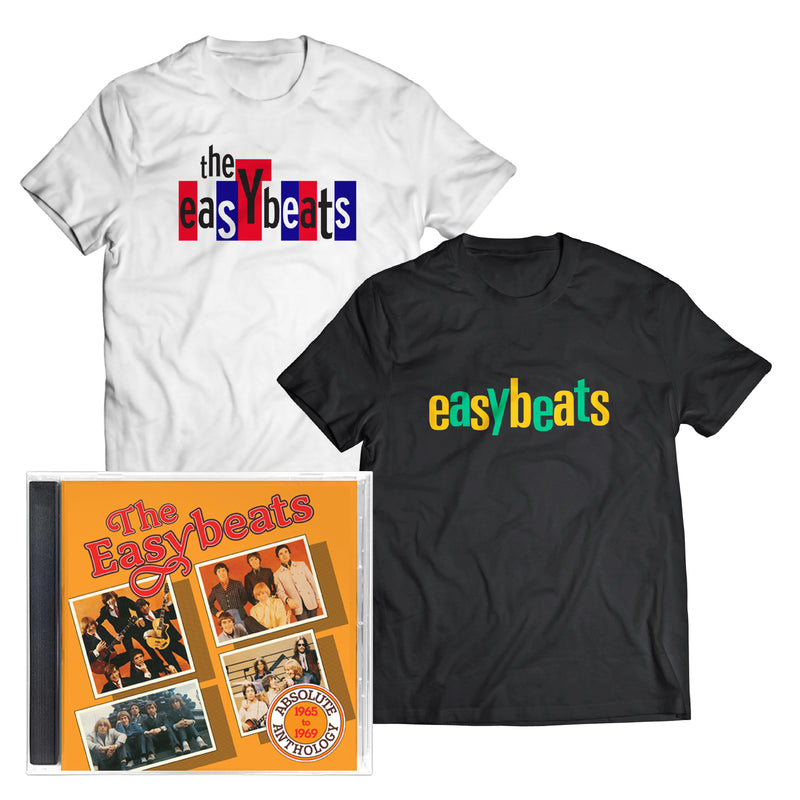 ABSOLUTE ANTHOLOGY 1965 – 1969 CD (2 x T-Shirt Bundle)