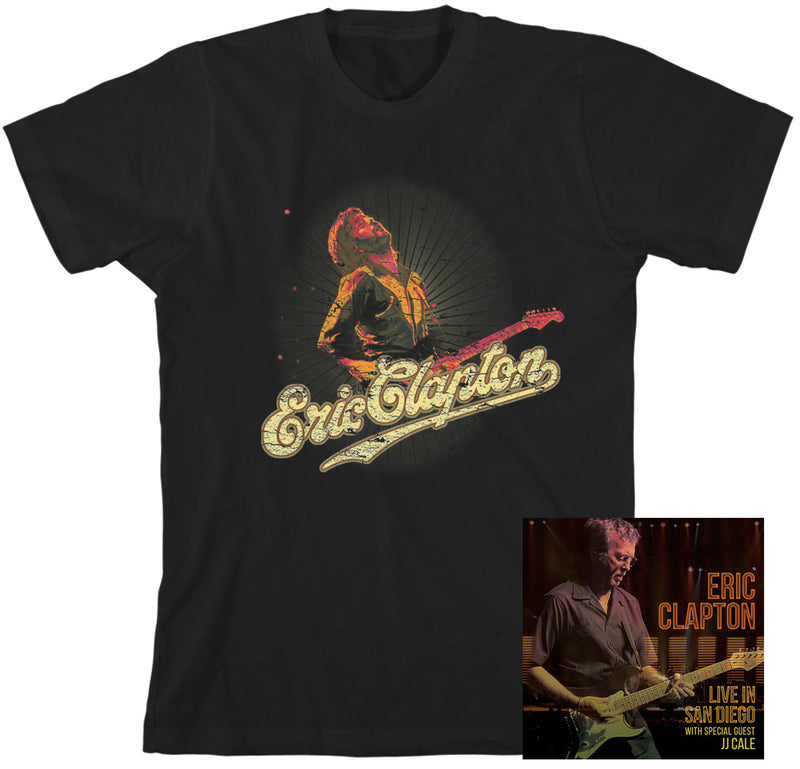 Live In San Diego (With Special Guest JJ Cale) - 2CD / T-Shirt