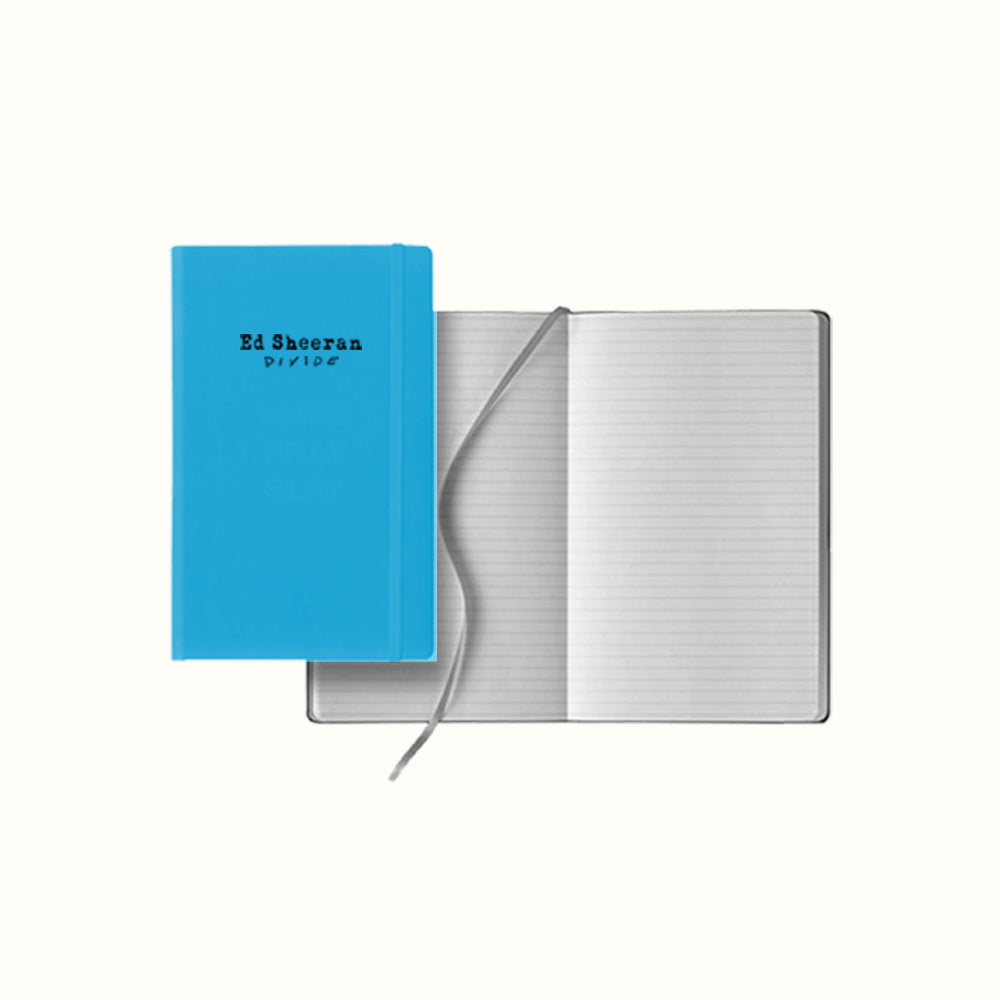 ÷ Blue Notebook