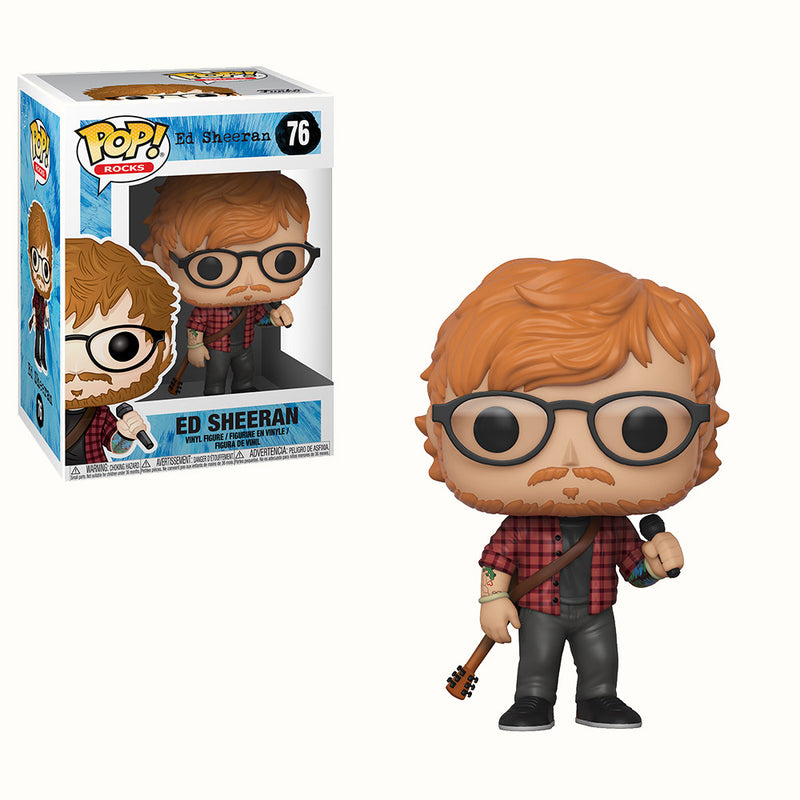 Pop! Rocks: Ed Sheeran Funko