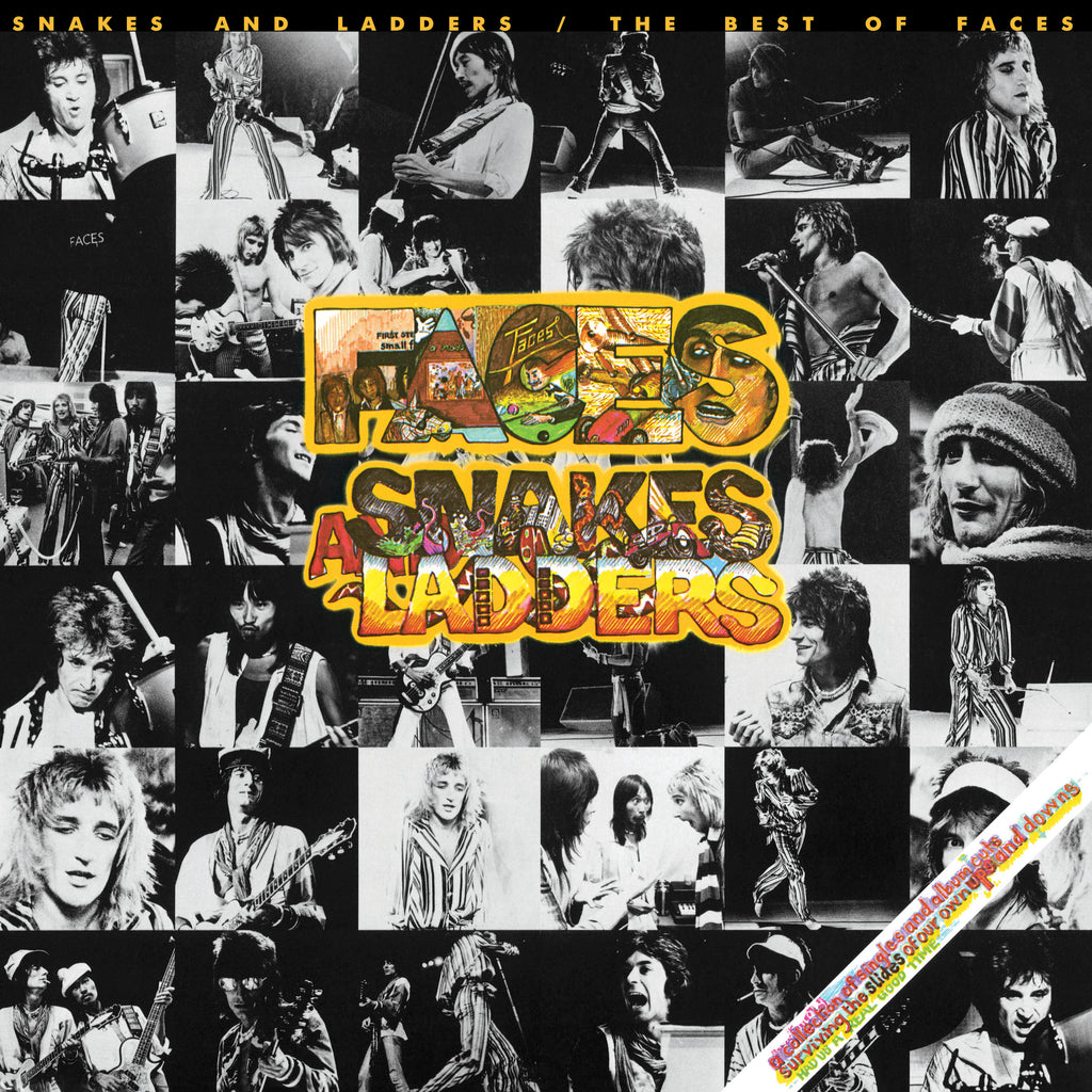 Snakes and Ladder / The Best of Faces (Vinyl)