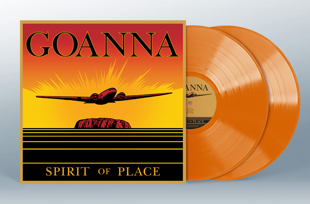 Goanna Spirit Of Place Orange Vinyl Cover