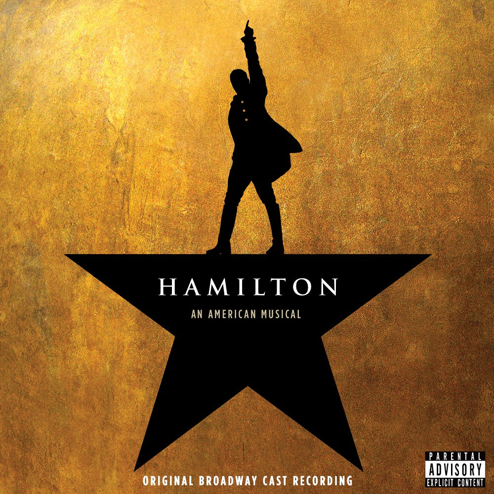 Hamilton (Original Broadway Cast Recording) (CD)