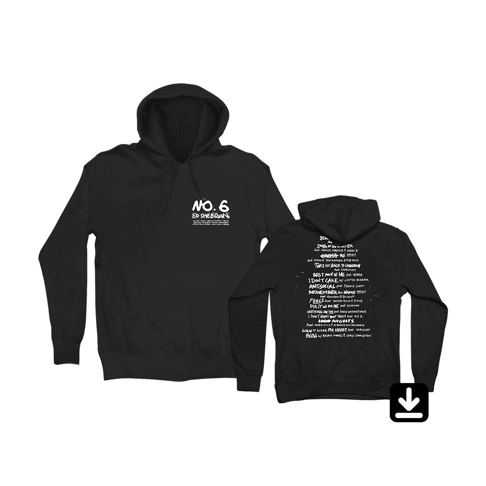 No.6 Collaborations Project Hoodie with Digital Download