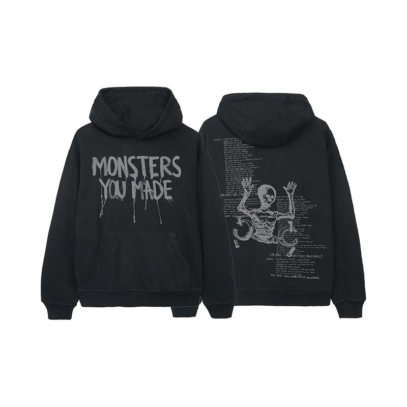 Monsters You Made Pullover Hoodie