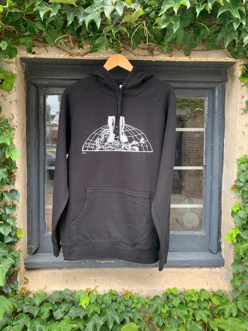 World Graphic Black Hoodie + FEET OF CLAY Download