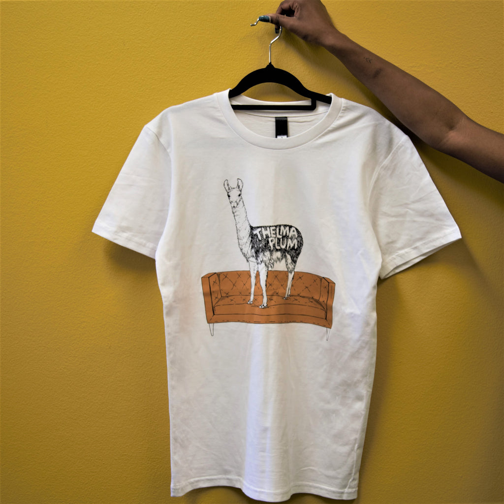 Get Your Hooves Off The Couch White T-Shirt