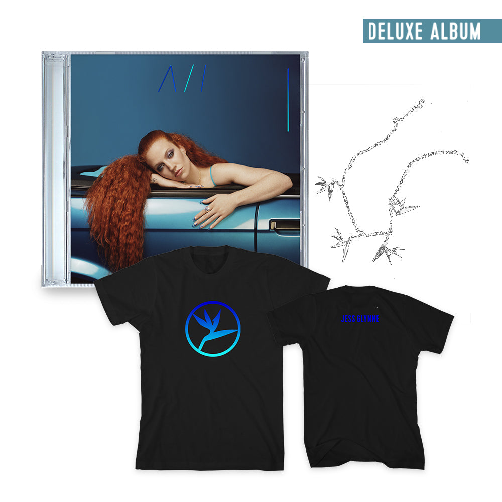 Always Inbetween (Deluxe CD, Necklace + T-Shirt) limited signed copies