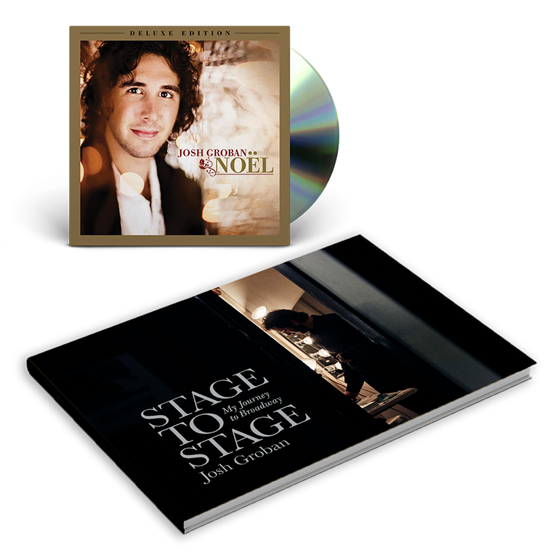 Josh Groban / Noel Deluxe Limited Edition Book Bundle - Warner ...