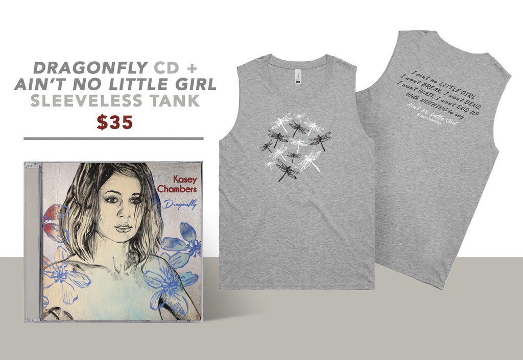 Dragonfly (CD + Sleeveless Tank Bundle)