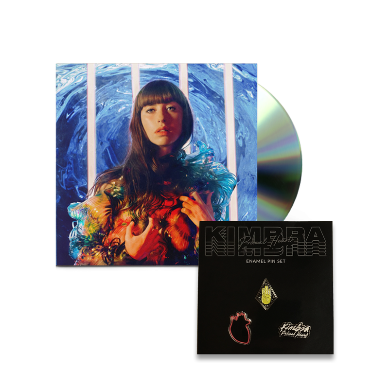 Primal Heart (CD & Pin Set Bundle)