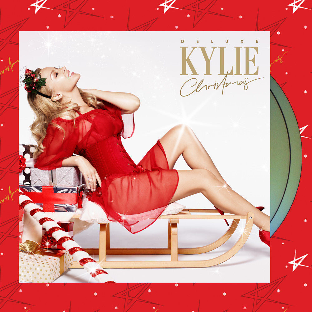 Kylie Christmas - Deluxe CD/DVD + Kylie Christmas Wrapping Paper