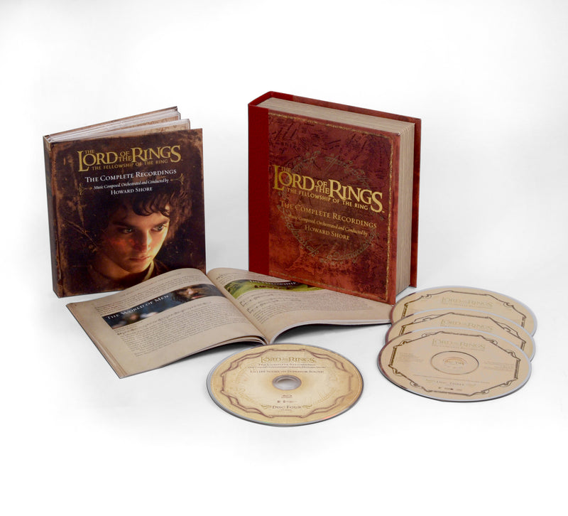 The Lord Of The Rings: The Fellowship Of The Ring - The Complete Recordings (3CD/BluRay)