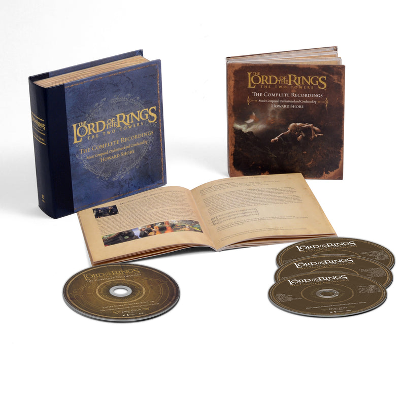 The Lord Of The Rings: The Two Towers - The Complete Recordings (3CD/BluRay)