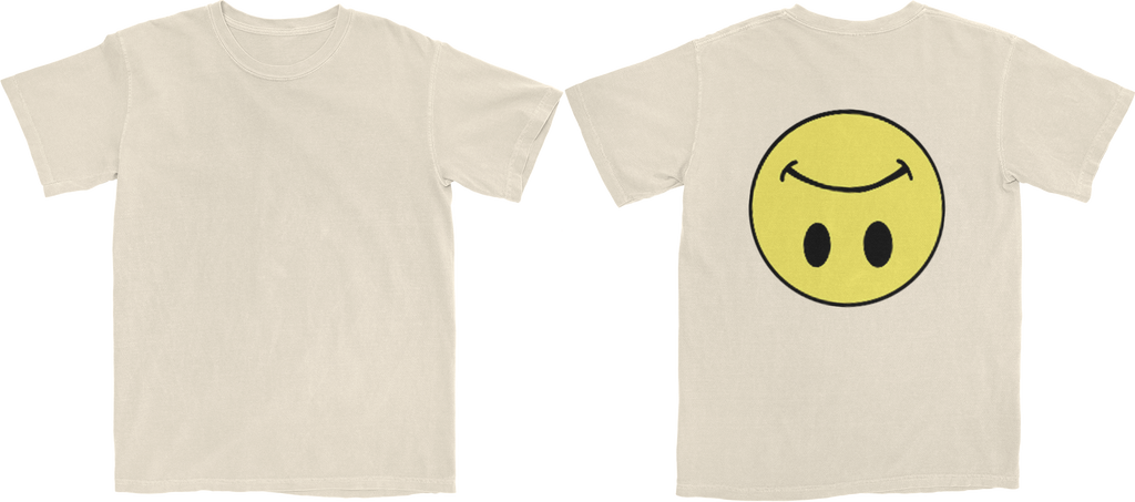 Uzi Smile (Natural) T-Shirt