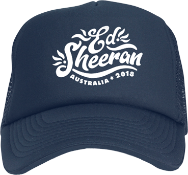 Ed Sheeran Australia Embroidered Trucker