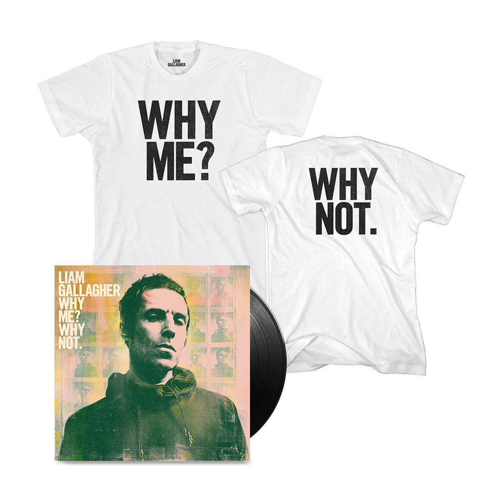 Why Me? Why Not. Vinyl T-Shirt Bundle