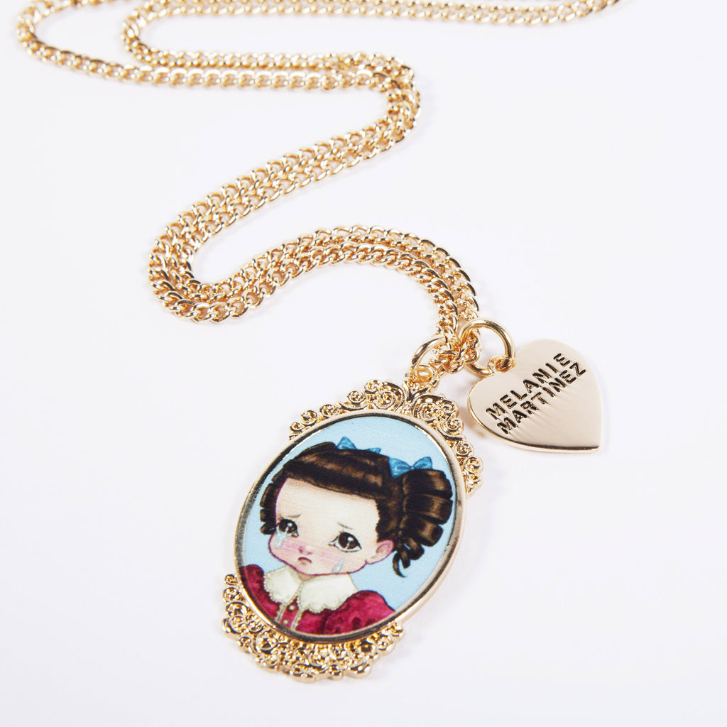Crybaby Cameo Necklace Multi