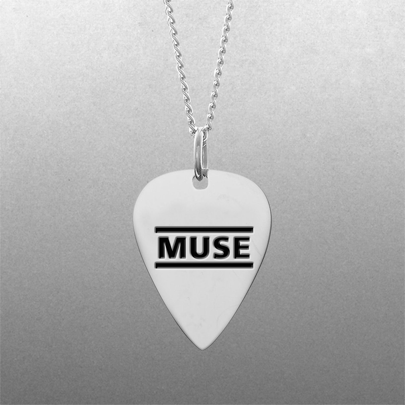 Muse Guitar Pick Necklace