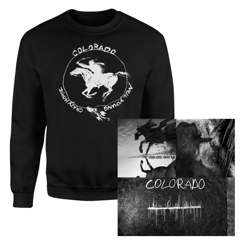 Colorado (Vinyl + Crewneck Sweatshirt Bundle)