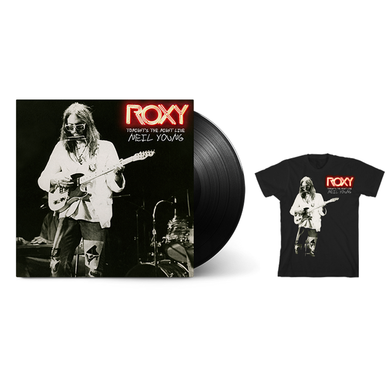 Roxy - Tonight's the Night Live (Vinyl + T-Shirt Bundle)
