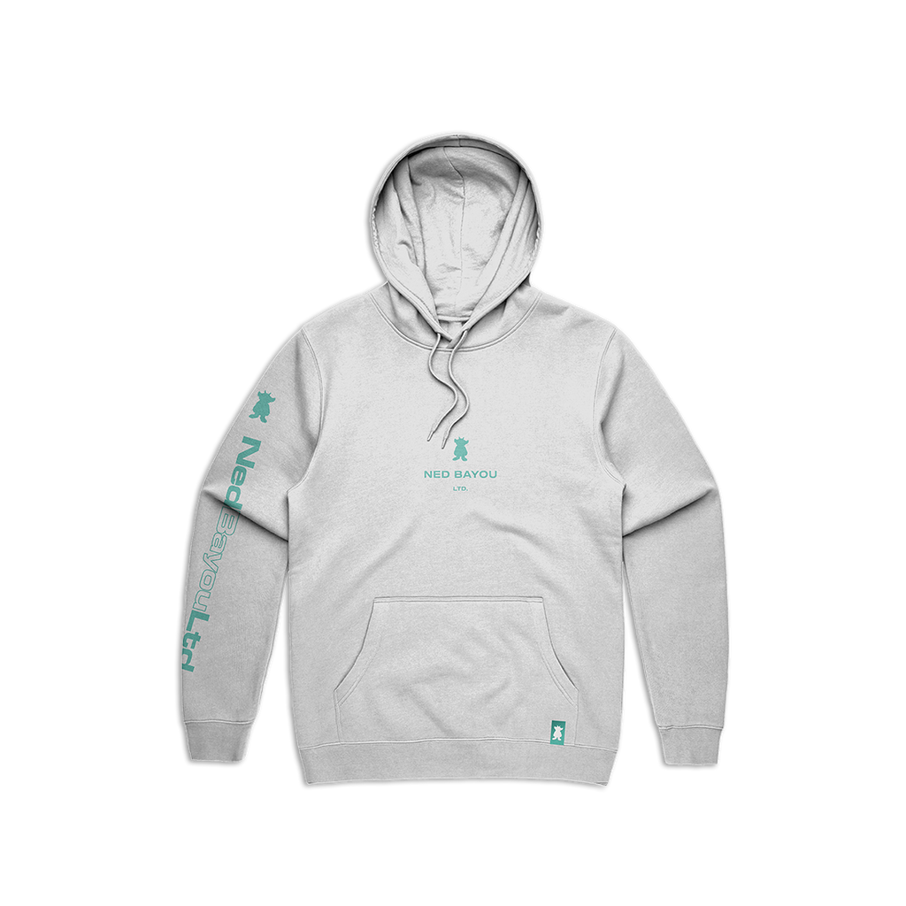 Outline Pullover Hoodie (White)