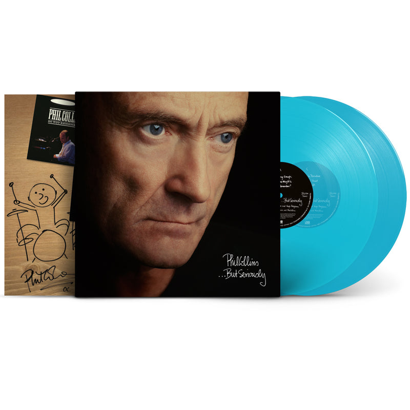 …But Seriously (2LP Turquoise + Numbered Lithograph)