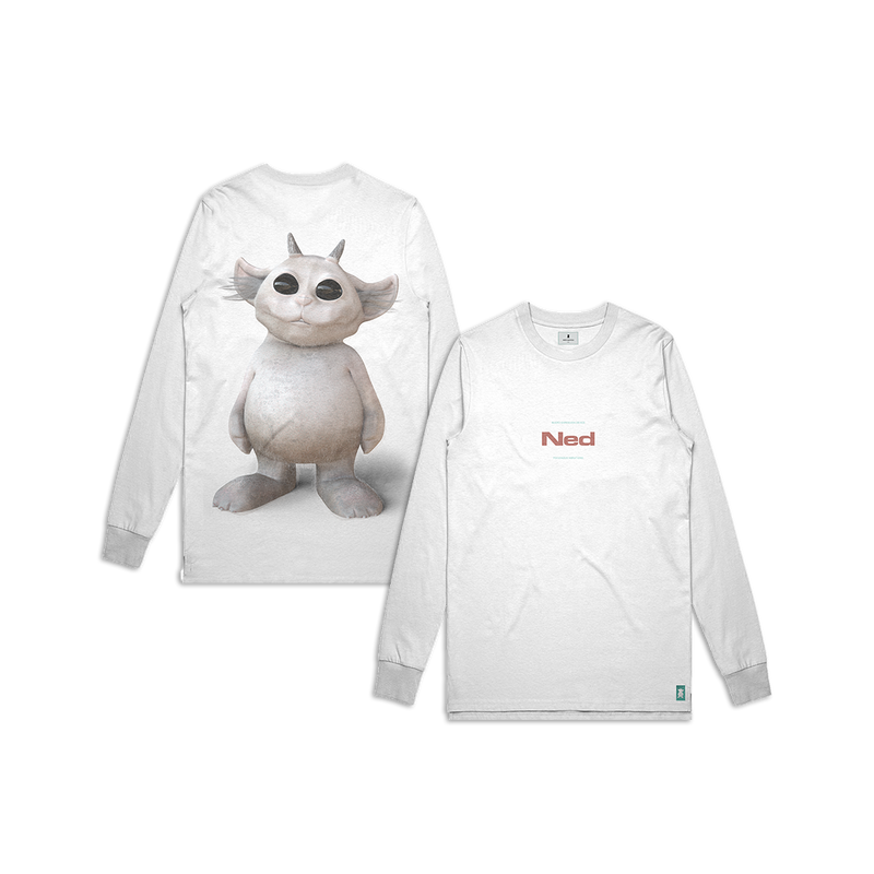Photo Longsleeve (White)