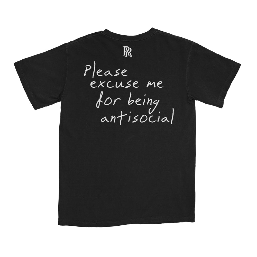 Please Excuse Me T-Shirt (Black) + Digital Album