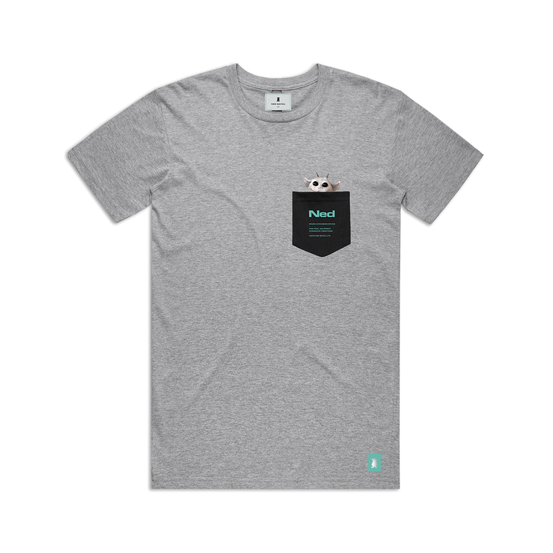 Pocket T-Shirt (Gray)
