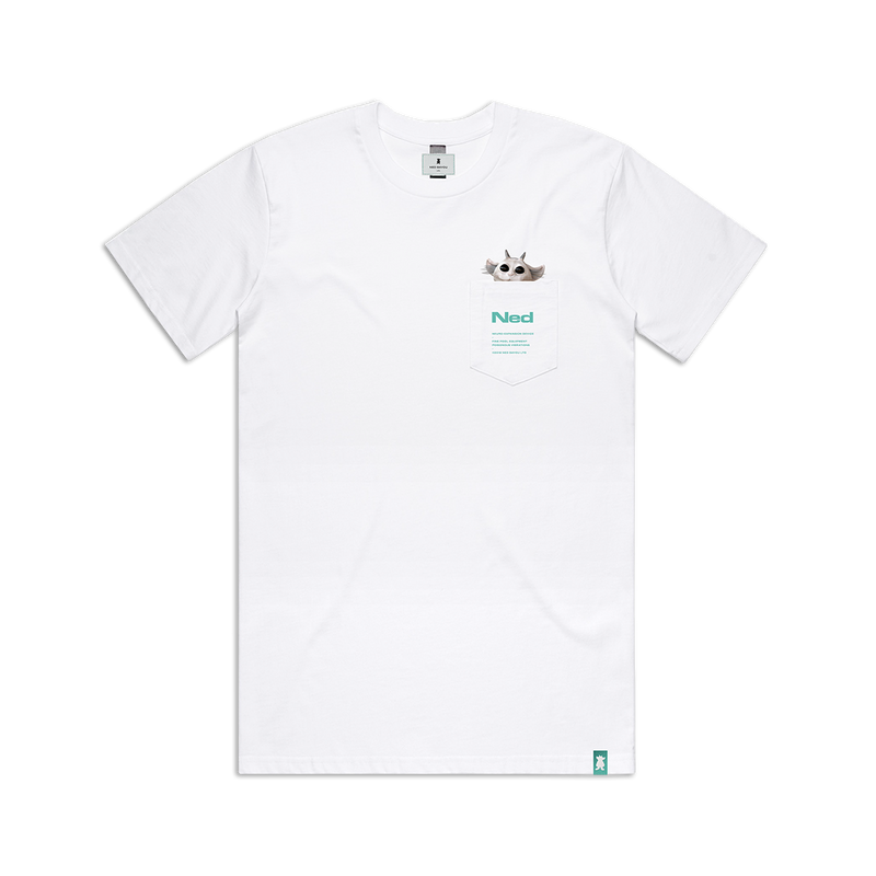 Pocket T-Shirt (White)
