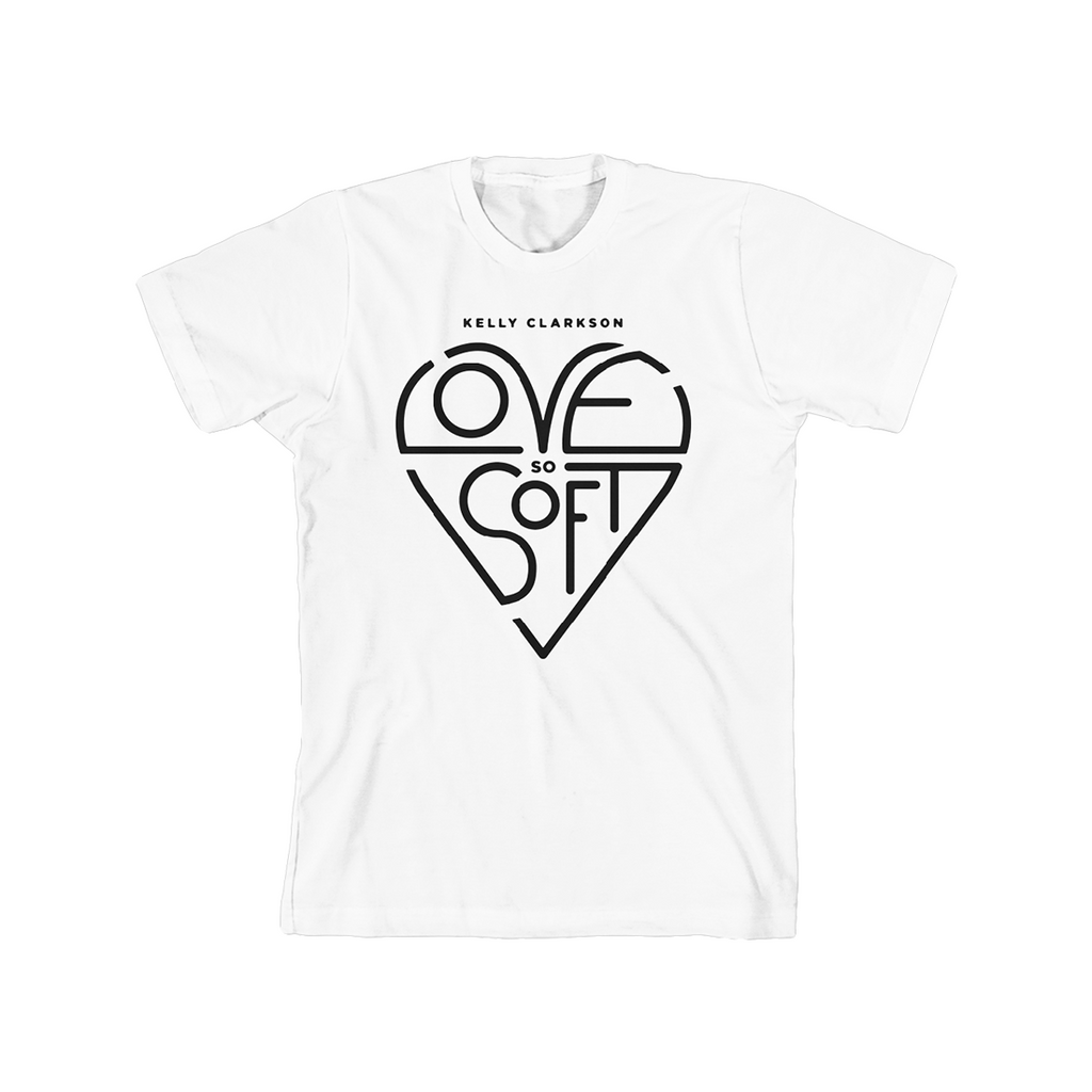 Kelly Clarkson - Heart Shaped T-Shirt