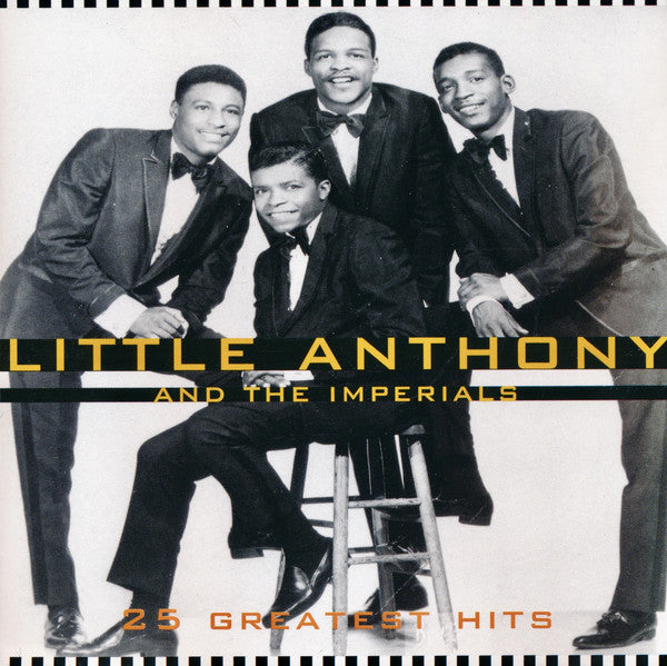 25 Greatest Hits (CD) | Little Anthony & The Imperials
