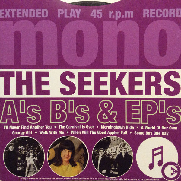 A's B's & EP's (CD) | The Seekers