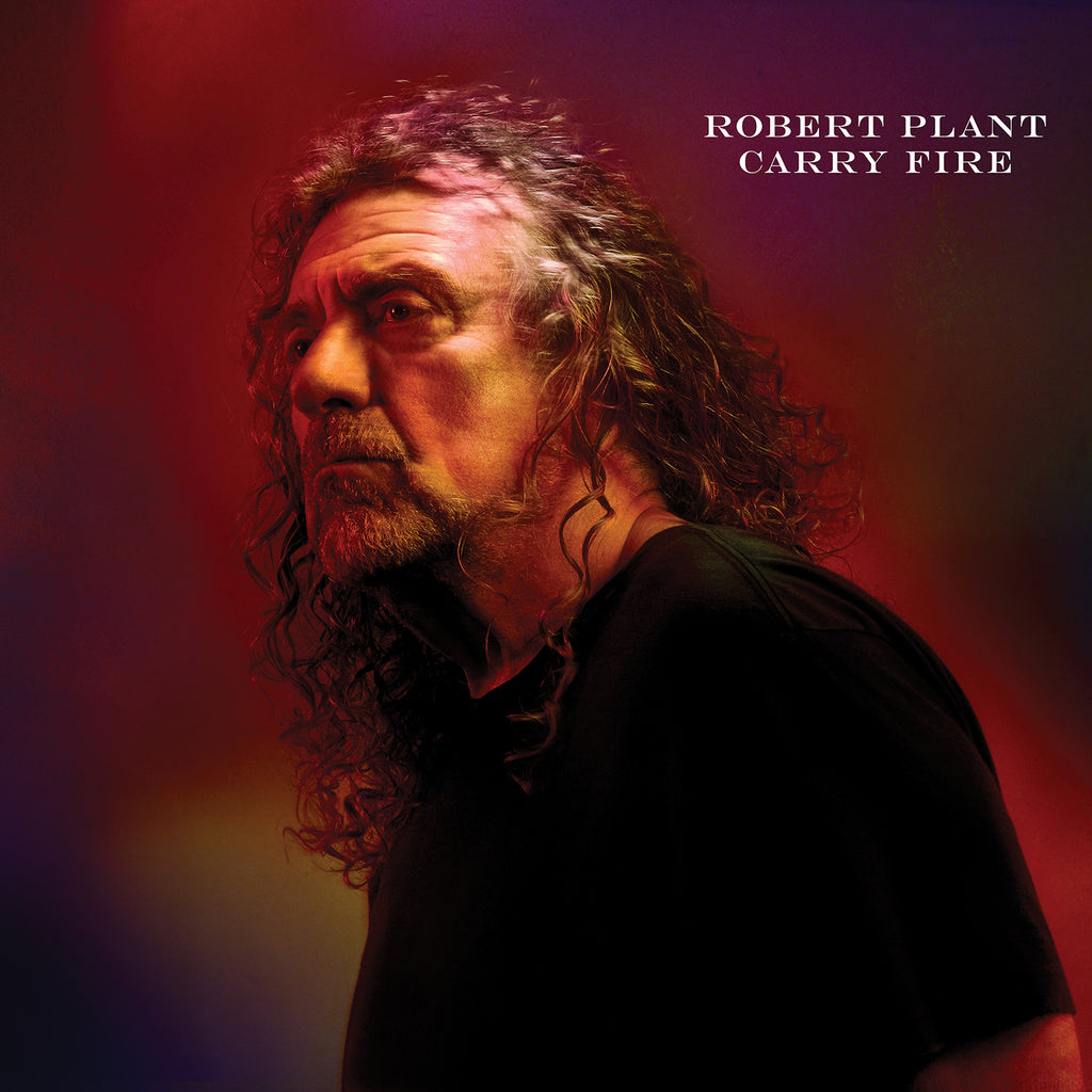Robert Plant - Carry Fire (CD) wth print