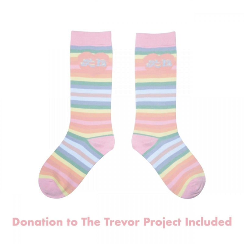K-12 Rainbow Socks