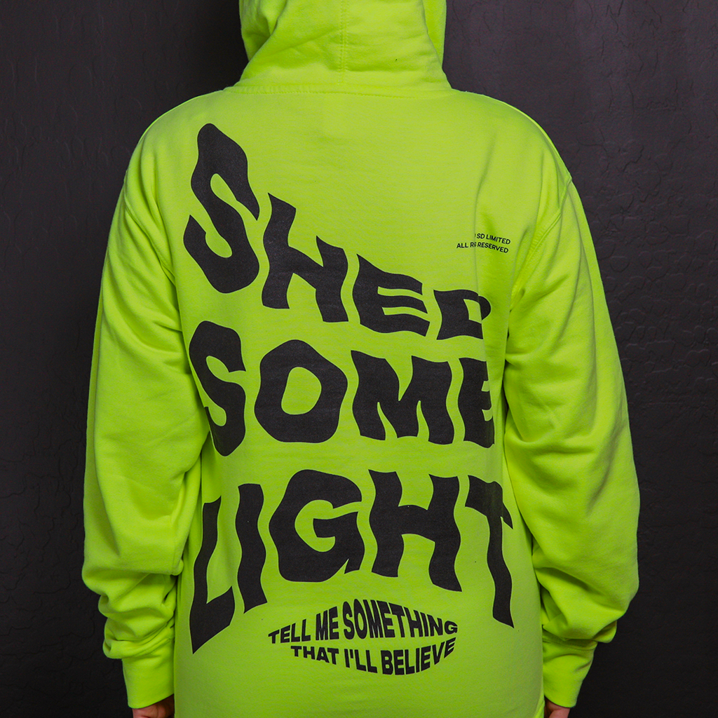 Shed Light Yellow Hoodie