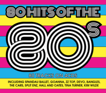 80 Hits Of The 80's (4CD)