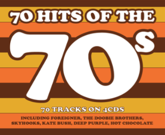 70 Hits Of The 70's (4CD)