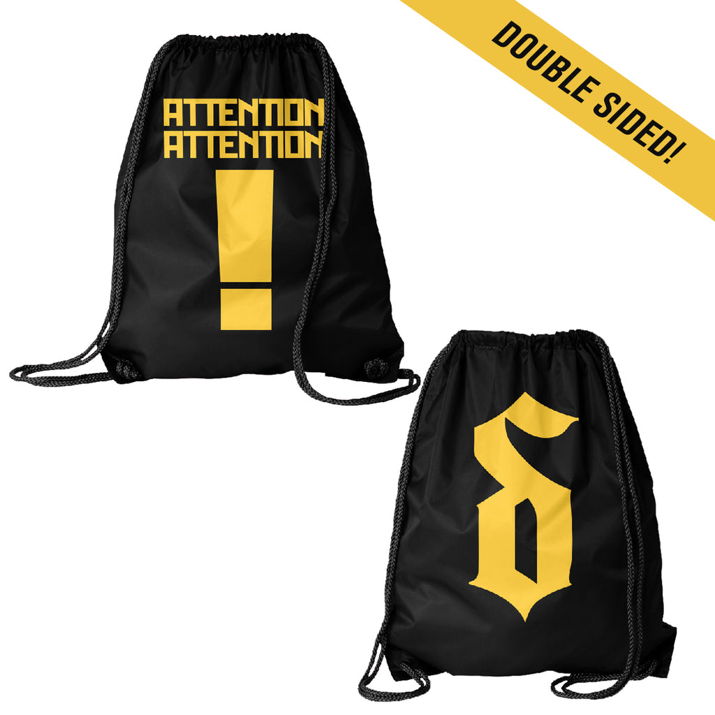 Shinedown - Attention Attention Drawstring Bag