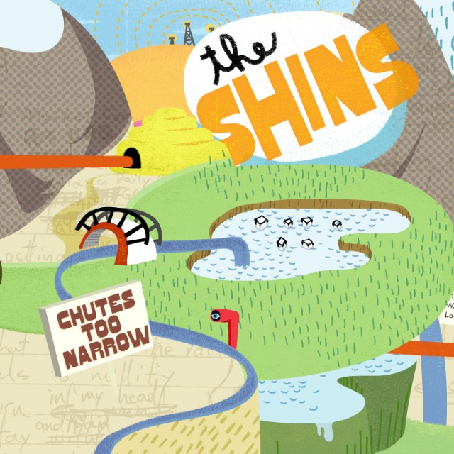 Chutes Too Narrow (CD) | The Shins