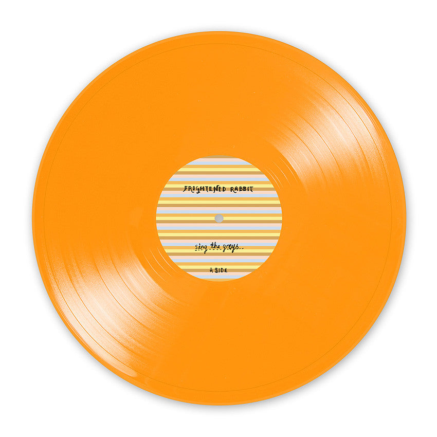 Sing The Greys: Limited Edition Orange Vinyl