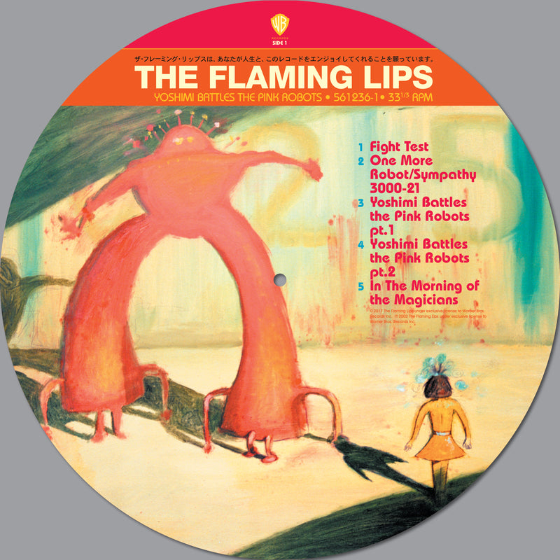 YOSHIMI BATTLES THE PINK ROBOTS (PICTURE DISC)