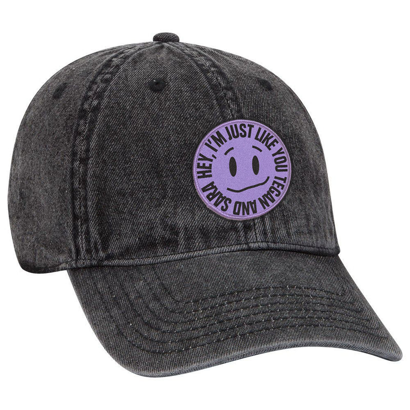 Kinda Smiley Denim Cap