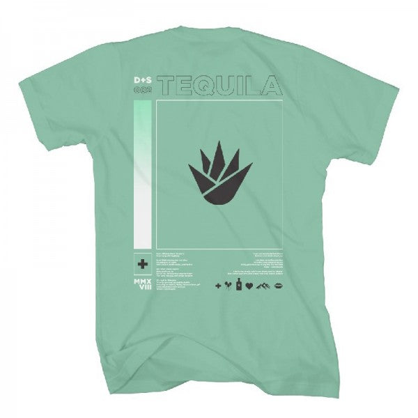 Tequila Flower Mint T-Shirt