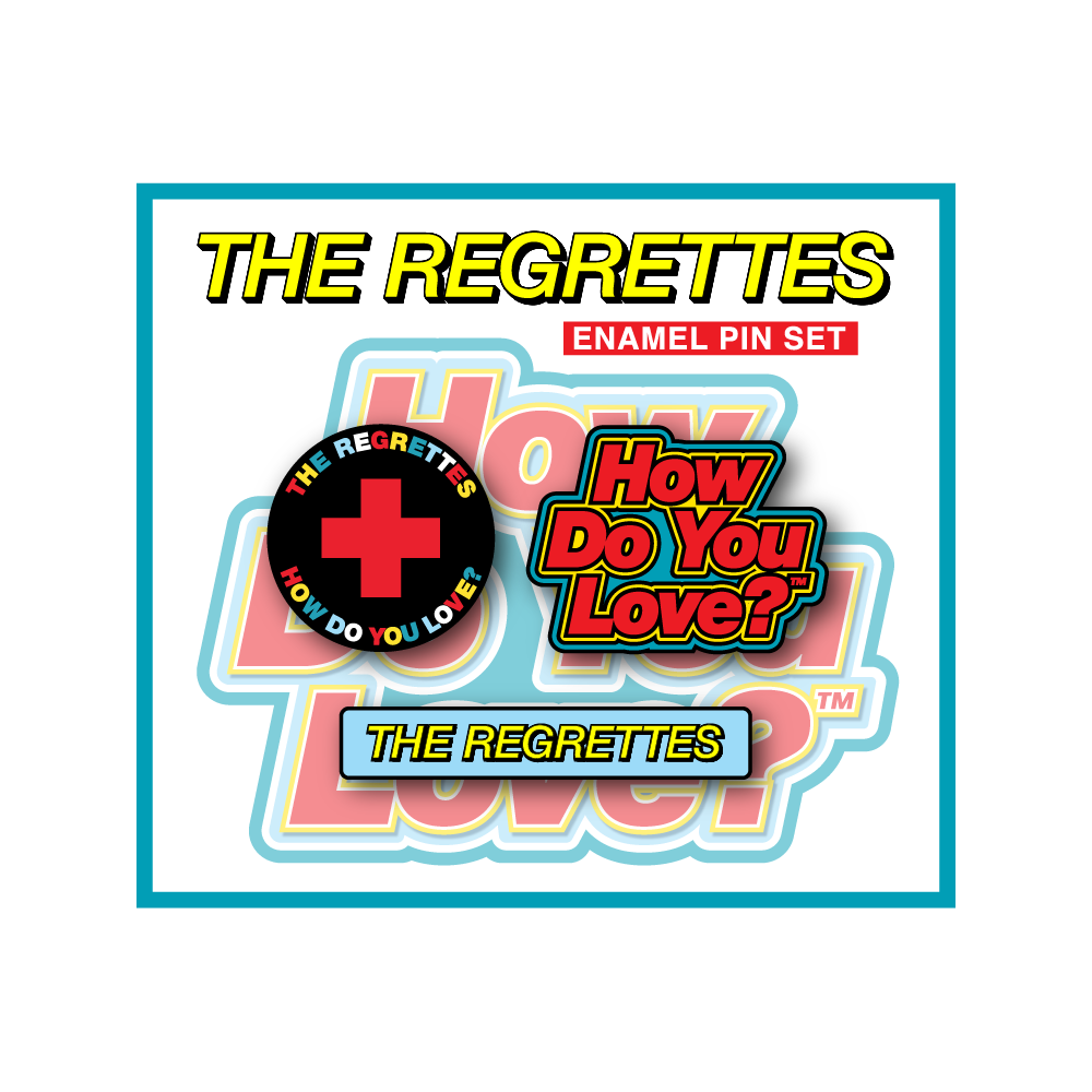 How Do You Love Sticker The Regrettes