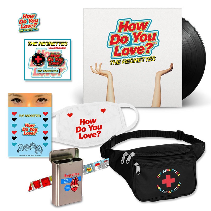 Love Sick Kit + Vinyl Bundle The Regrettes